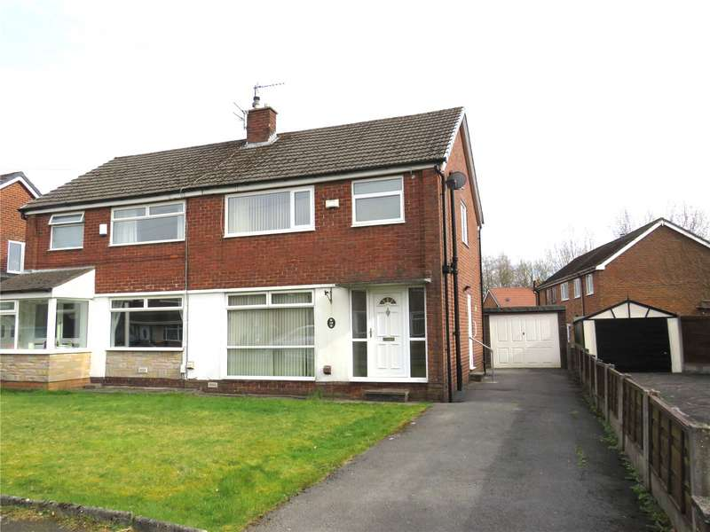 3 Bedrooms Semi Detached House for sale in Croft Gate, Harwood, BL2