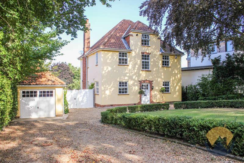 5 Bedrooms Detached House for sale in Poplar Avenue, Norwich NR4