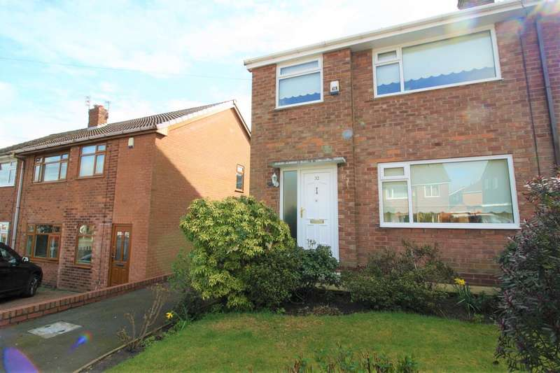 3 Bedrooms Semi Detached House for sale in Peveril Close, Whitefield