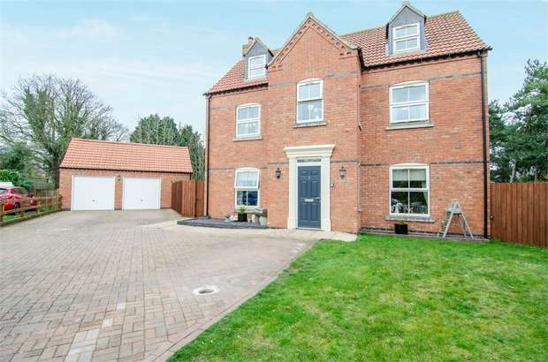 6 Bedrooms Detached House for sale in Greenfinch Close, Ruskington, Sleaford, Lincolnshire