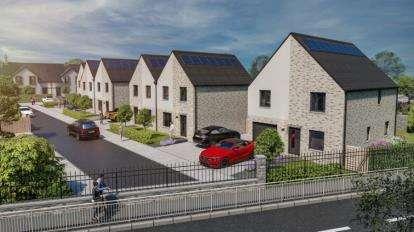 Semi Detached House for sale in The Primary, Gartshore Road, Kirkintilloch, Glasgow