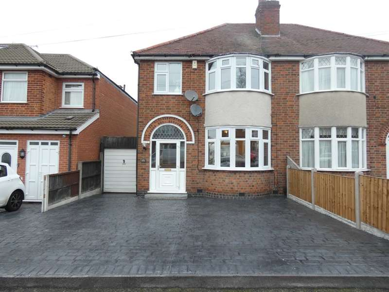 3 Bedrooms Semi Detached House for sale in Cardinals Walk, Scraptoft , Leicester