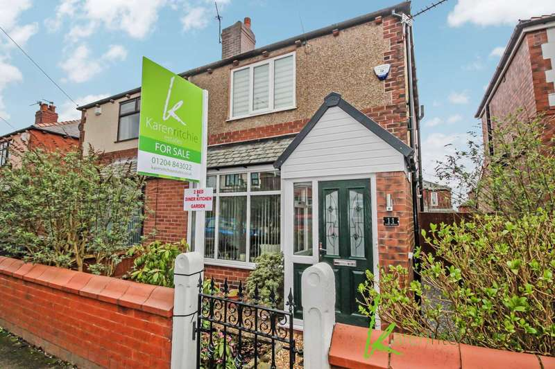 2 Bedrooms Semi Detached House for sale in Tenby Avenue, Bolton