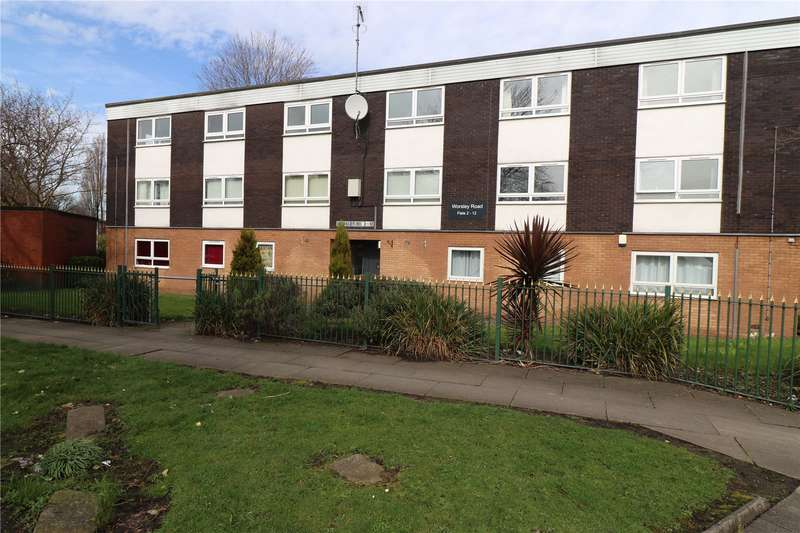 2 Bedrooms Flat for sale in Worsley Road, Eccles, Manchester, Greater Manchester, M30
