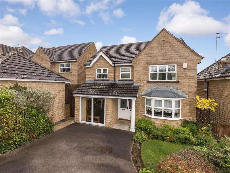 4 Bedrooms Detached House for sale in Heron Close, Harden, Bingley, West Yorkshire