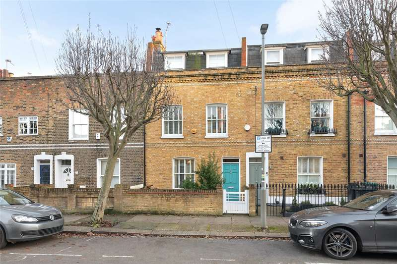 3 Bedrooms Terraced House for sale in Shellwood Road, London, SW11
