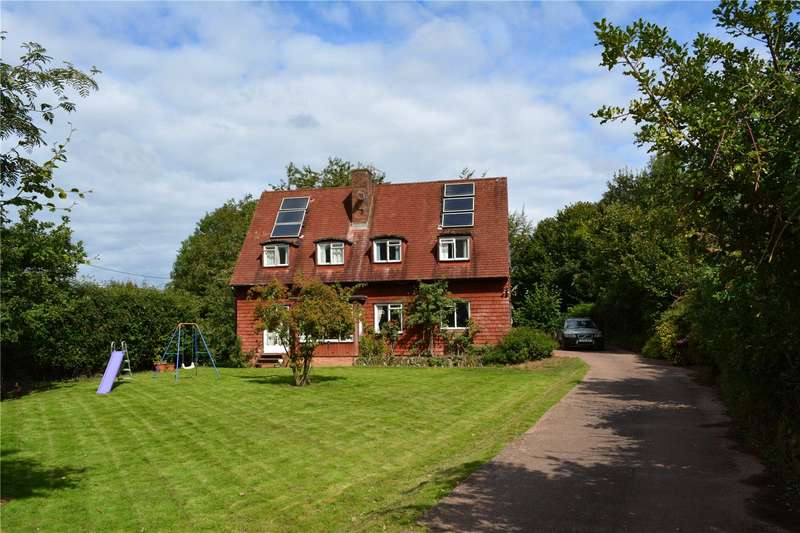 4 Bedrooms Detached House for sale in Roadwater, Watchet, Somerset, TA23