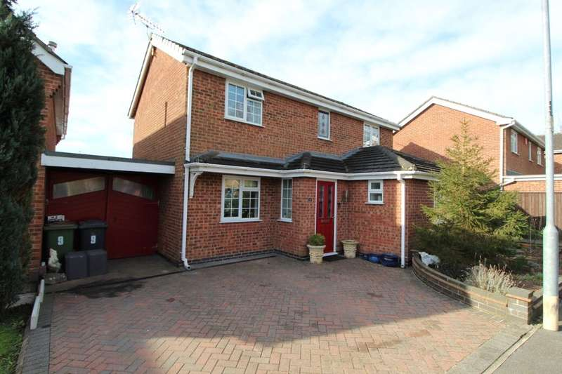 4 Bedrooms Detached House for sale in Locksley Close, Ashby-De-La-Zouch, LE65