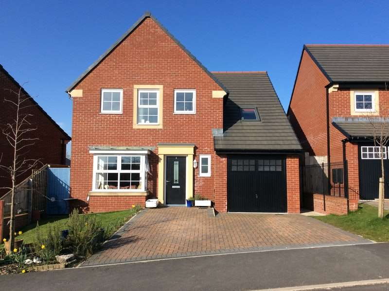 5 Bedrooms Detached House for sale in Ribble Prospect, Clitheroe, Lancashire, BB7
