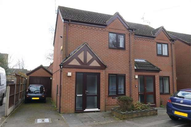 2 Bedrooms Semi Detached House for sale in Albany Mews, Gladstone Street, Market Harborough, Leicestershire