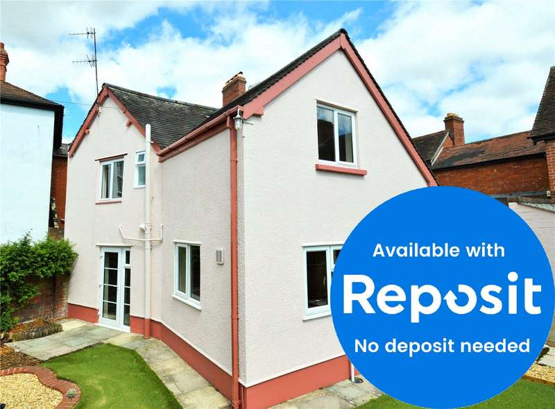 3 Bedrooms Link Detached House for rent in 2 St Stephens Close, Ludlow, Shropshire, SY8