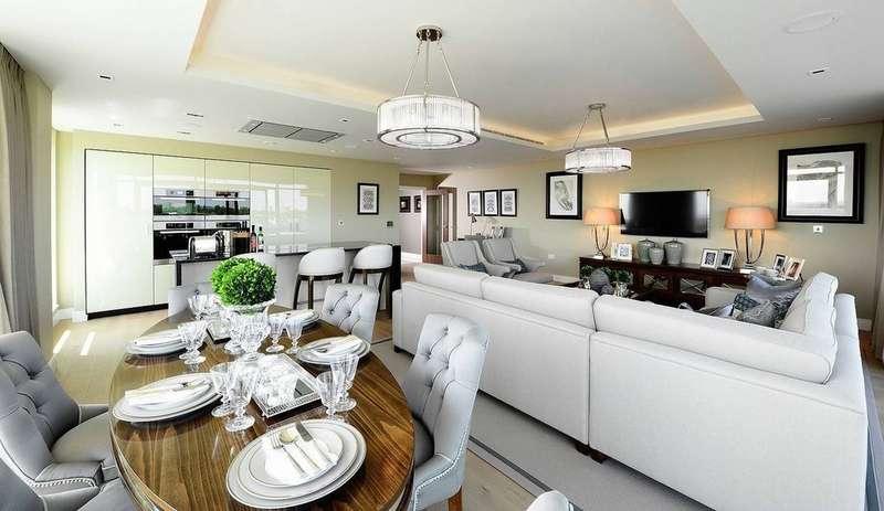3 Bedrooms Flat for sale in Dickens Yard | Ealing Broadway | London