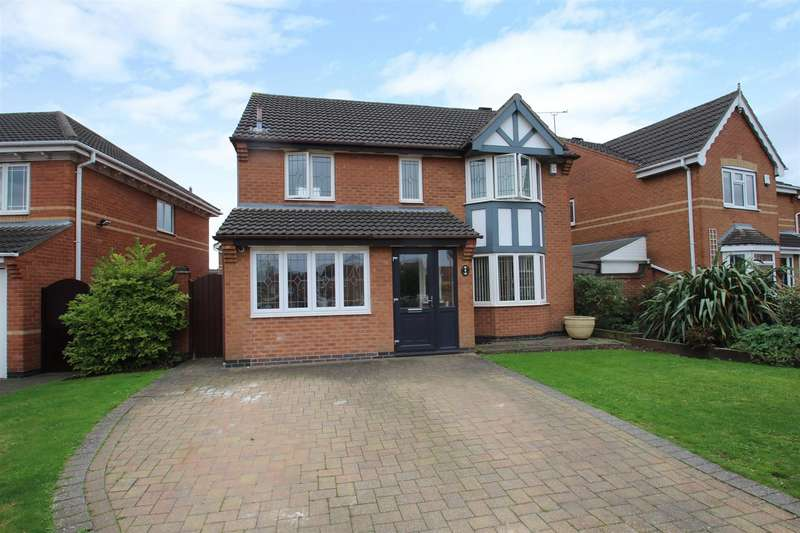 4 Bedrooms Detached House for sale in Mallard Road, Mountsorrel, Loughborough