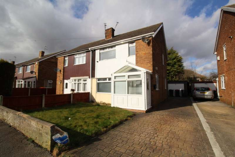 3 Bedrooms Semi Detached House for sale in The Oval, North Anston, Sheffield, South Yorkshire, S25