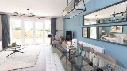 Detached House for sale in Cranbook New Town, Rockbeare, Exeter