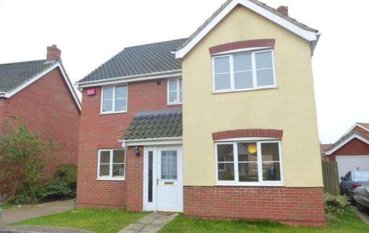 6 Bedrooms Detached House for rent in Tizzick Close, Norwich