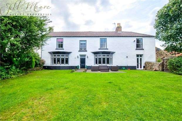 5 Bedrooms Unique Property for sale in Stone Cellar Farmhouse, DONWELL VILLAGE, Washington, Tyne & Wear. NE37 1NT