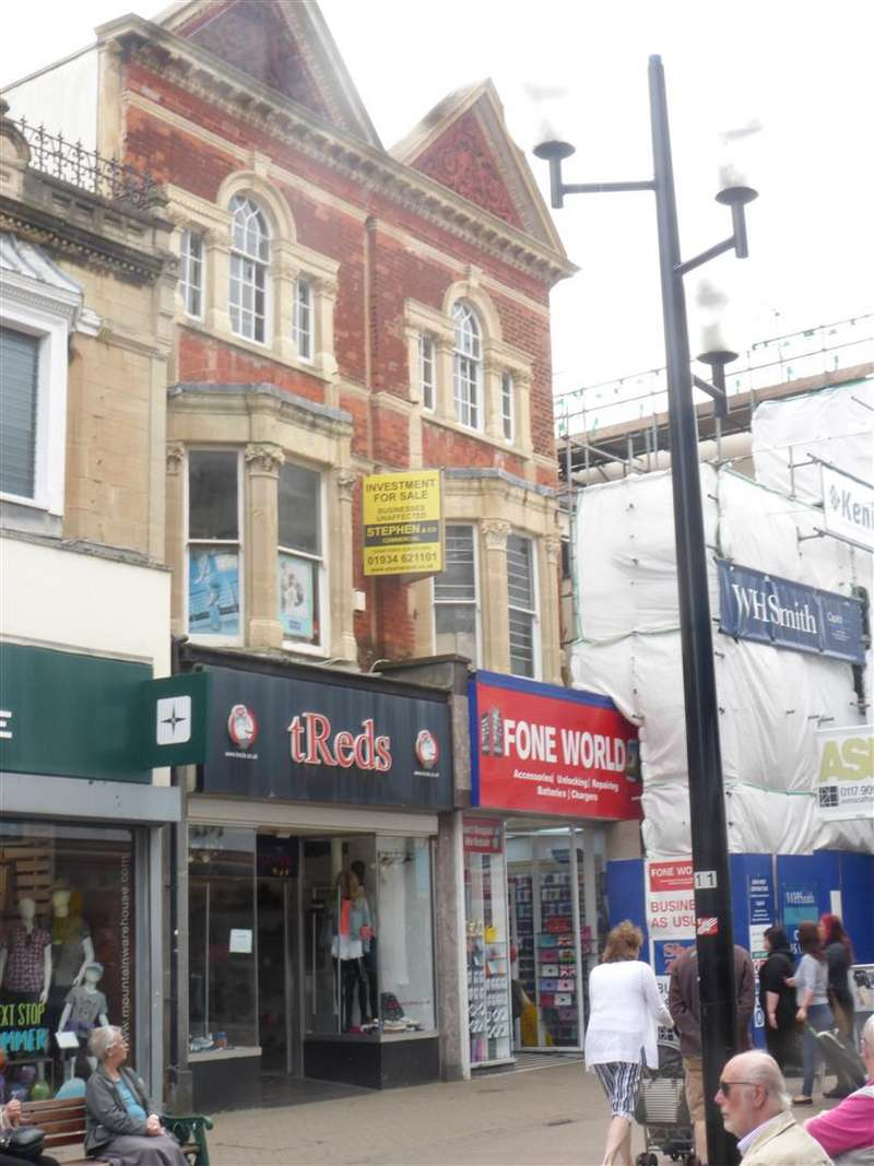 Retail Property (high Street) Commercial for sale in High Street, Weston-Super-Mare