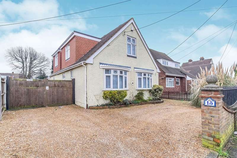 3 Bedrooms Detached House for sale in King George Road, Walderslade, Chatham, Kent, ME5