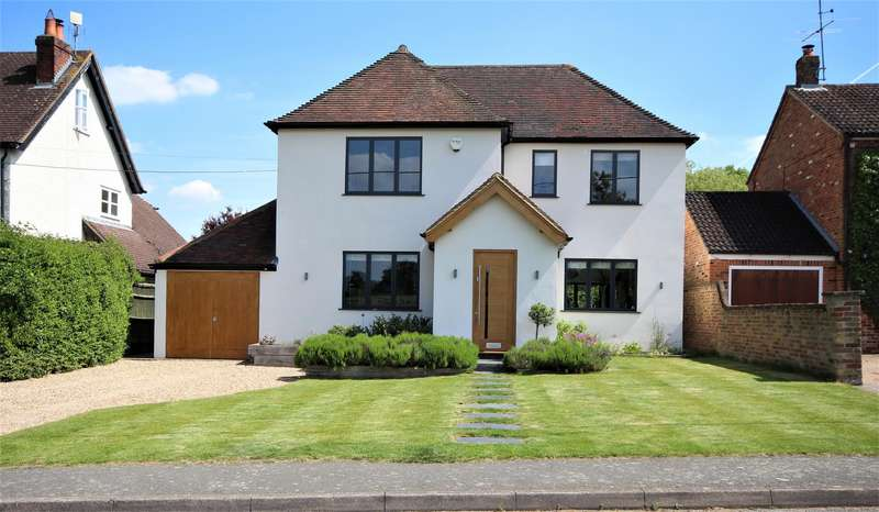 4 Bedrooms Detached House for sale in School Road, Waltham St. Lawrence, Reading