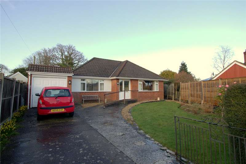 3 Bedrooms Detached Bungalow for sale in Normandy Close, Sway, Lymington, Hampshire, SO41
