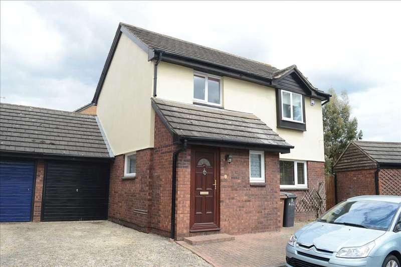 3 Bedrooms Link Detached House for sale in Aldridge Close, Chelmer Village, Chelmsford
