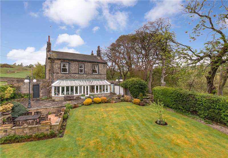 4 Bedrooms Unique Property for sale in Moorfield, Green End Road, East Morton, West Yorkshire