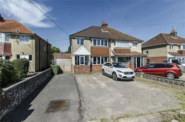 3 Bedrooms Semi Detached House for sale in Fair Oak Road, Bishopstoke, EASTLEIGH, Hampshire