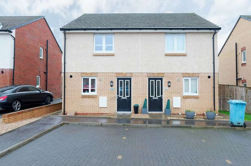 2 Bedrooms Semi Detached House for sale in Gisborne Drive, Airdrie, North Lanarkshire, ML6 7LG
