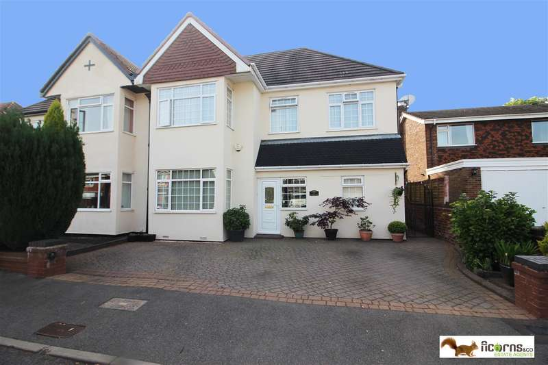 5 Bedrooms Semi Detached House for sale in Fernleigh Road, Walsall