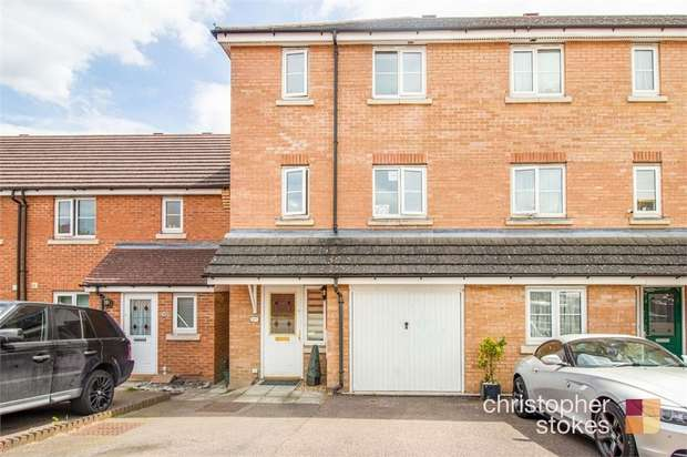 3 Bedrooms End Of Terrace House for sale in Columbia Road, Broxbourne, Hertfordshire