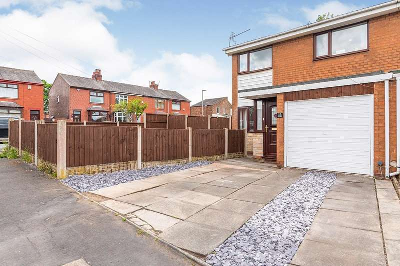 3 Bedrooms Semi Detached House for sale in Grange Avenue, Orrell, Wigan, Greater Manchester, WN5