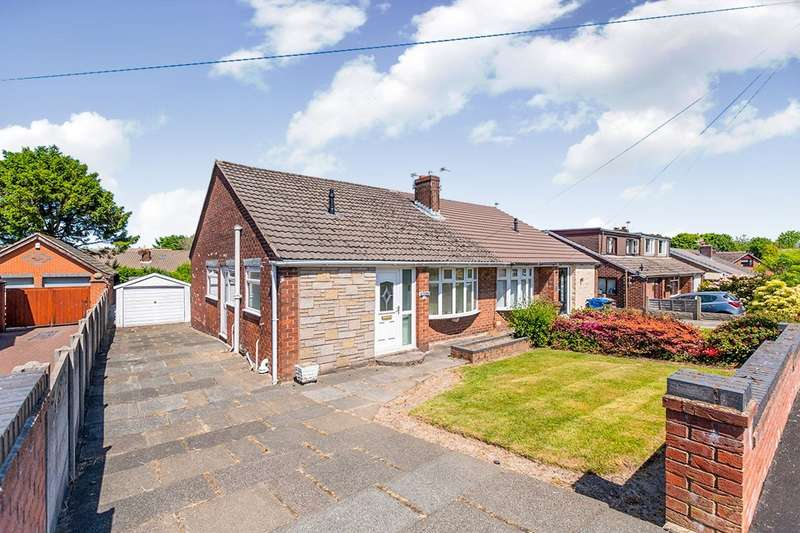 2 Bedrooms Semi Detached Bungalow for sale in Derwent Road, Orrell, Wigan, Greater Manchester, WN5