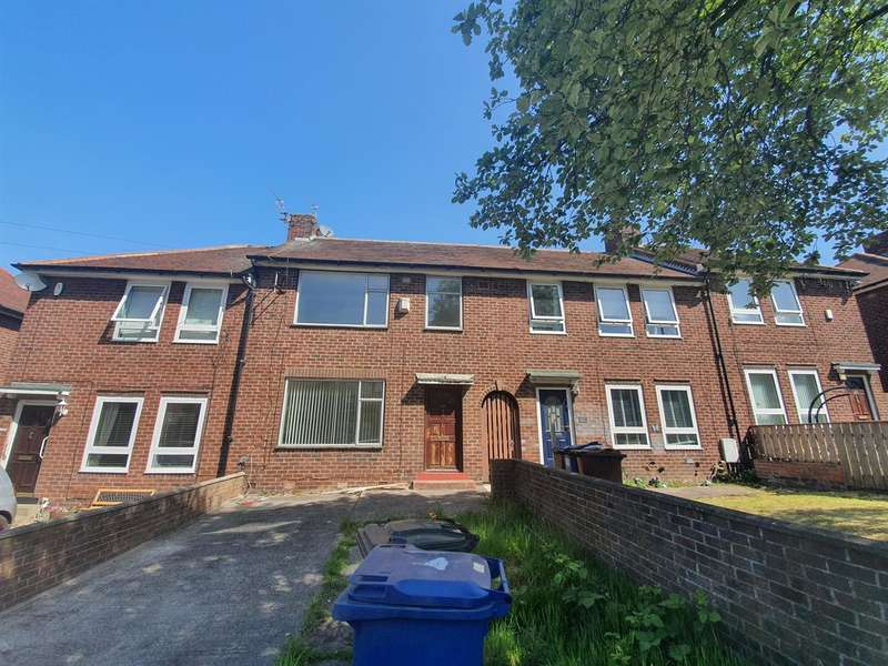 3 Bedrooms Terraced House for sale in Stamfordham Road, North Fenham, Newcastle upon Tyne