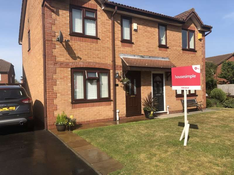 3 Bedrooms Semi Detached House for sale in Witham Close, Netherton, Merseyside, L30