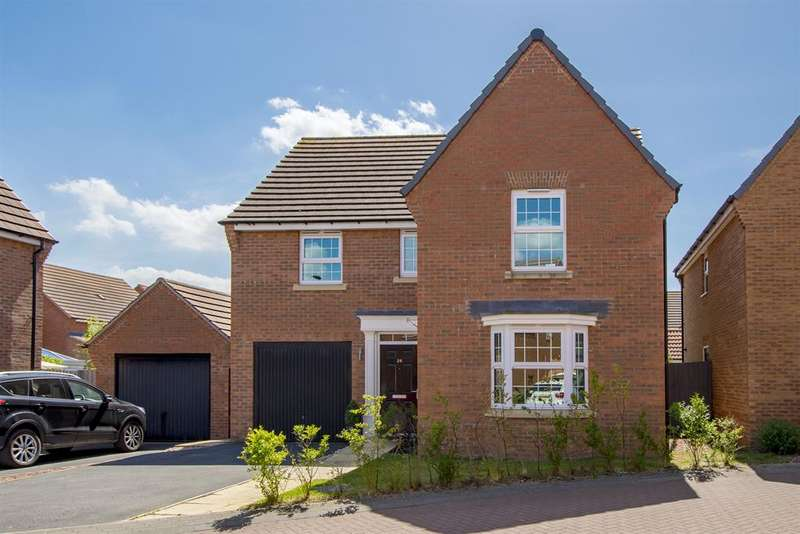 4 Bedrooms Detached House for sale in Wellington Drive, Finningley, Doncaster, DN9 3FD