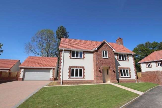 4 Bedrooms Property for sale in Castle Grove, Langaller, Taunton