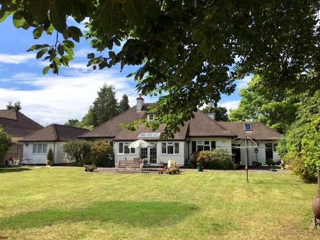3 Bedrooms Bungalow for sale in Riverside Road, West Moors, Ferndown, Dorset, BH22