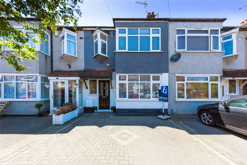 3 Bedrooms Terraced House for sale in Beechfield Gardens, Romford, RM7