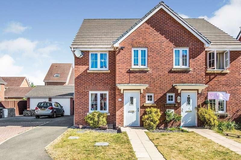 4 Bedrooms Semi Detached House for sale in Dukinfield Court, Buckshaw Village, Chorley, Lancashire, PR7