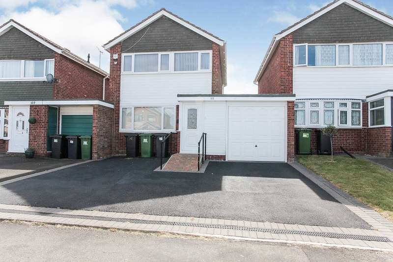 3 Bedrooms Link Detached House for sale in The Raywoods, Nuneaton, Warwickshire, CV10