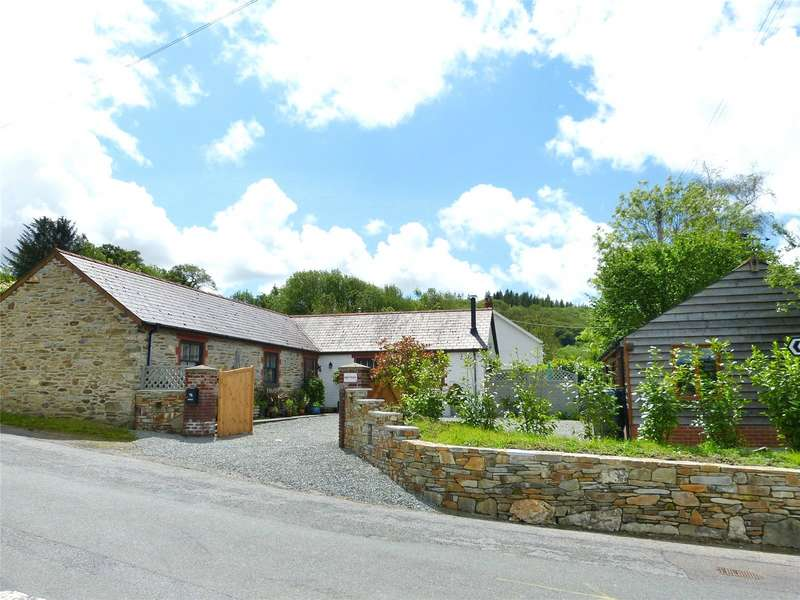3 Bedrooms Detached Bungalow for sale in Henfeudy, Llanglydwen, Whitland, Carmarthebshire