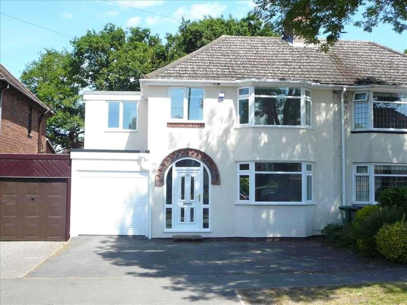 4 Bedrooms Semi Detached House for sale in D'eyncourt Road, Wednesfield, Wednesfield
