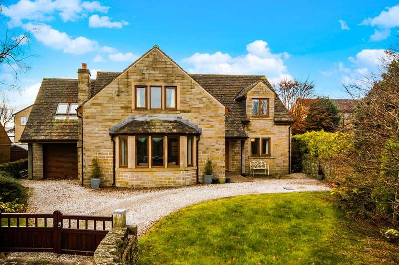 6 Bedrooms Detached House for sale in Chapelgate, Scholes, Holmfirth