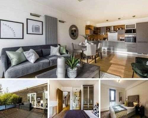 2 Bedrooms Apartment Flat for sale in Grange Road, Bermondsey, London