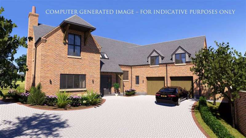 4 Bedrooms Detached House for sale in Kate's Hill, Rolleston Road, Billesdon Leicester