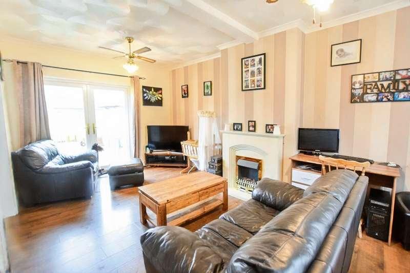 3 Bedrooms Semi Detached House for sale in Woodfield Terrace, Tir-Y-Berth, Hengoed