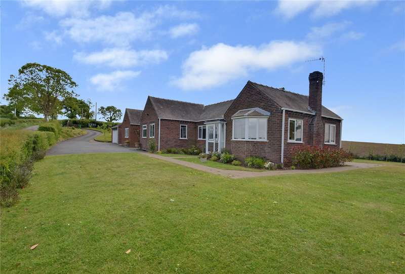 4 Bedrooms Detached Bungalow for sale in Melbury, Neen Savage, Cleobury Mortimer, Kidderminster, Shropshire, DY14