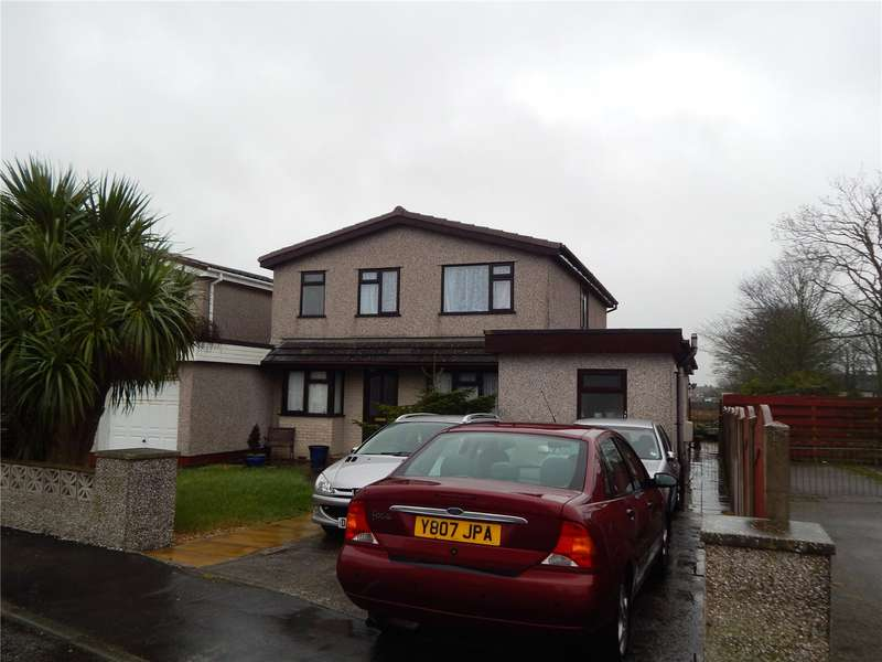 5 Bedrooms Link Detached House for sale in Lon Gardener, Valley, Holyhead, Anglesey, LL65