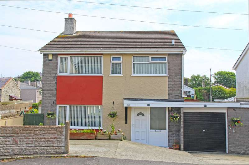 3 Bedrooms Link Detached House for sale in Glorian Estate, Amlwch, Isle of Anglesey, LL68